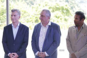 Passalacqua y Macri firmaron convenios e inauguraron el Meliá Iguazú, primer hotel seis estrellas de la Argentina