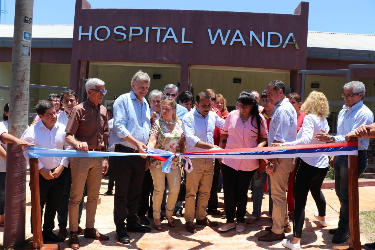 Se inauguró el Hospital de nivel I de Wanda