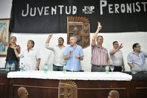 Felipe Solá cerró el 1° encuentro provincial de la Juventud Peronista