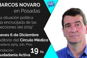 Marcos Novaro diserta en Posadas