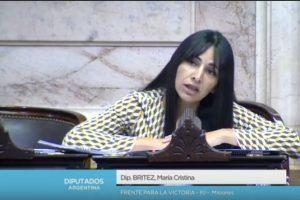 Despidos en Dass: La Diputada Cristina Britez aprovechó la sesión especial para hablar de la crisis del sector