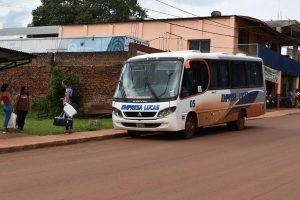 Piden que se habiliten combis o minibuses para que decenas de comunidades no queden aisladas