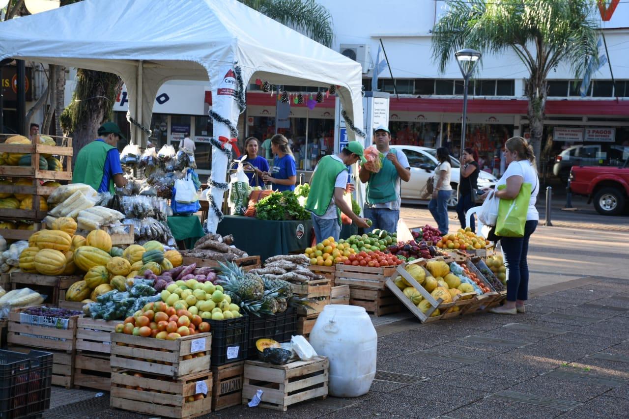 Las plazas de la Soberanía Alimentaria generaron ventas por cerca de medio millón de pesos