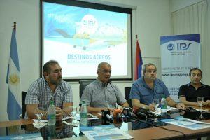El IPS presentó paquetes turísticos aéreos para la temporada invernal