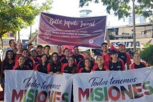 Chicos de Posadas viajaron a Cosquín para mostrar el folcklore misionero