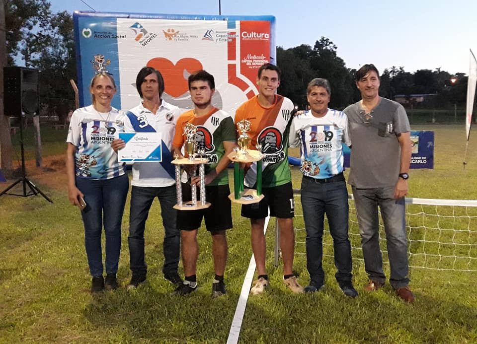 Con gran participación, se disputó el segundo torneo de fútbol tenis en Montecarlo