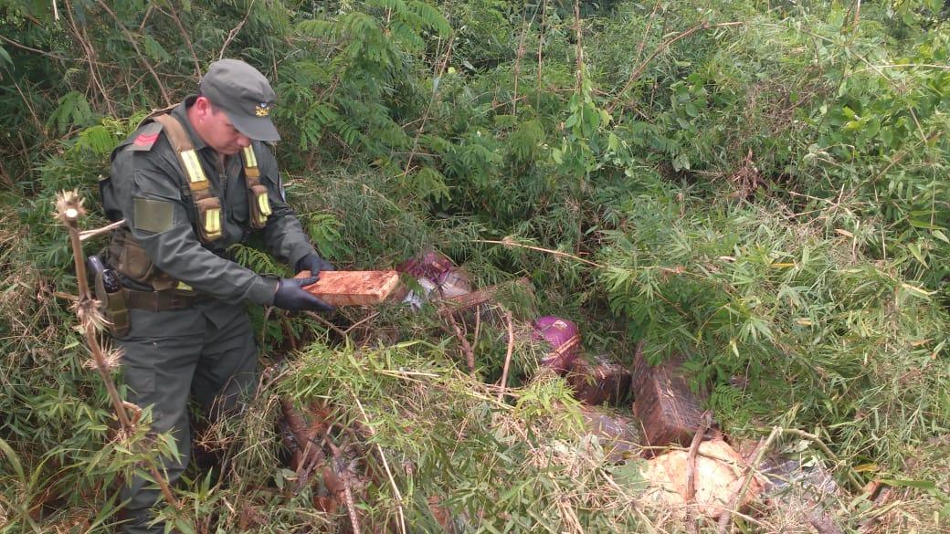 Secuestraron 1100 kilos de marihuana en Misiones