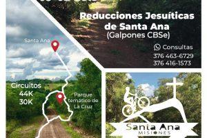 Invitan al cicloturismo aventura «Cerro Santa Ana»