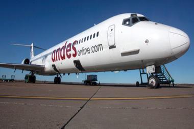 La crisis de Andes, la línea aérea que hoy «no puede ni pagar el combustible»