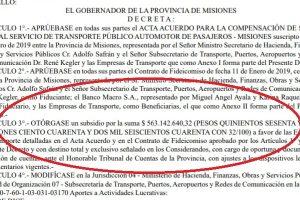 Se publicó en el Boletín Oficial el aporte de la Provincia de $563 millones para subsidiar el boleto y cubrir el «hueco» que dejó Nación para cumplir con el FMI