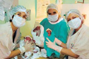 Por primera vez nacieron trillizos mbya en una comunidad misionera