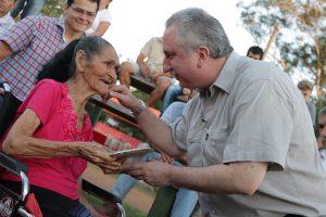Passalacqua reconoció a pioneros en el acto de celebración por los 125 años de Cerro Corá