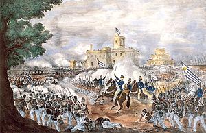 Hoy se cumplen 167 años de la Batalla de Caseros, donde Rosas fue derrotado y cambió el curso de la historia argentina