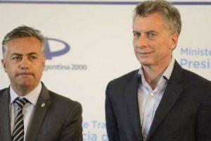 Cornejo anunció hoy que desdobla la elección en Mendoza