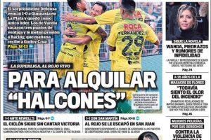 Las tapas del domingo 17 de febrero: El adiós a Emiliano Sala y el triunfo del sorprendente Defensa y Justicia