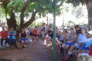 Familias de laChacra 136  de Posadas piden solución para la falta de salubridad del agua que consumen