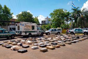 Posadas: secuestran 2. 352 kilos de marihuana ocultos en una vivienda