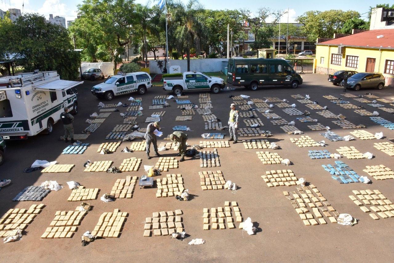En lo que va de la gestión de Passalacqua, la Policía misionera secuestró 50.000 kilos de marihuana
