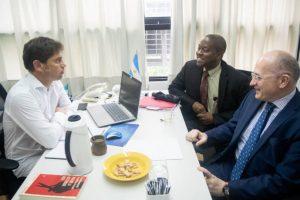 El FMI se reunió con Kicillof