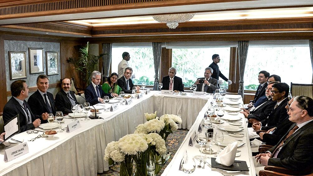 Macri habló de la India como «socio para el futuro» y prometió a los empresarios locales «igualdad de oportunidades»