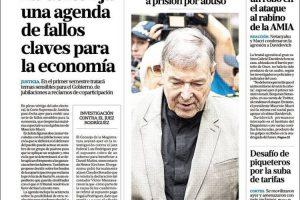 Las tapas del miércoles 27: La agenda de la Corte, las elecciones y la economía