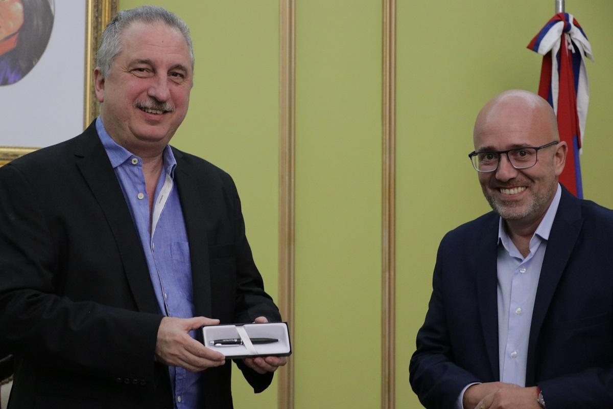 Passalacqua agradeció la apertura de nuevas sucursales del banco Nación