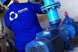 Samsa mejora el servicio de agua en Santa Helena y zona aledaña de Garupá
