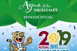 De Misiones al mundo: Agua de las misiones es el agua oficial del Mundial de Futsal 2019