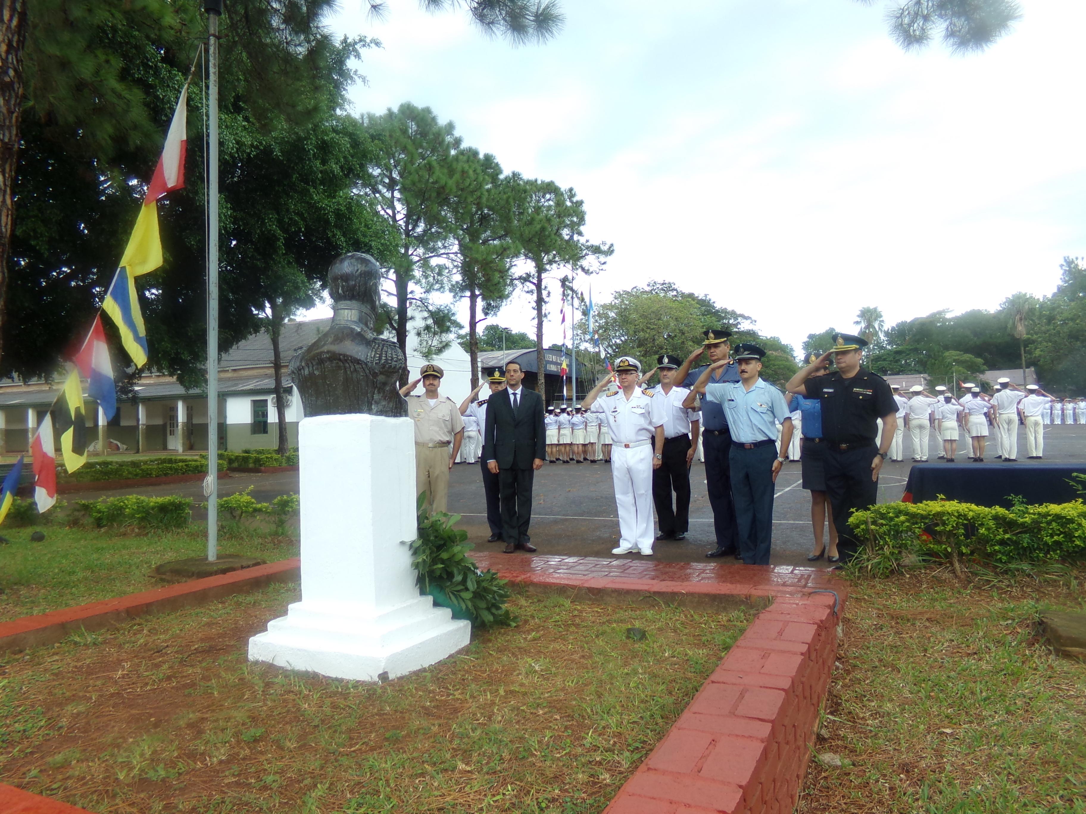 El Liceo Storni recordó al Almirante Guillermo Brown