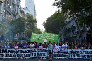8M: marchas y movilizaciones a lo largo del país en el Día Internacional de la Mujer