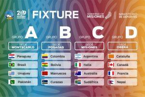 Argentina ya conoce el fixture del Mundial de Futsal