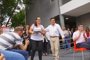 """El proyecto """"Lagash University"""" desembarcó en la Escuela de Robótica"""