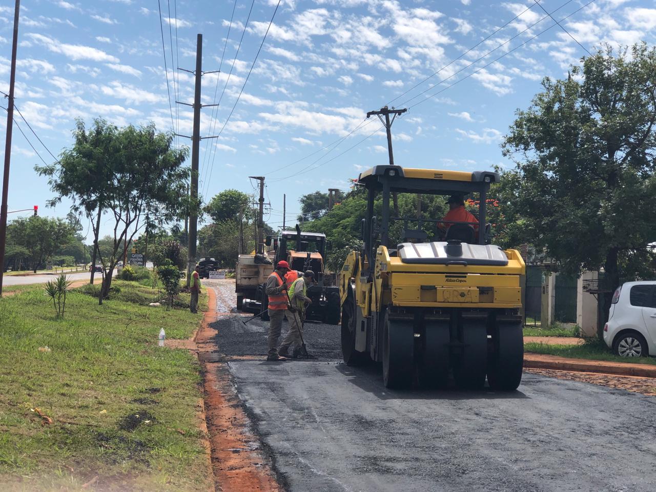 Con fuerte respaldo del Estado provincial, Vialidad sigue avanzando con obras en Posadas