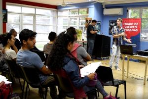 Más de 200 personas participaron de las charlas sobre el Fondo de Crédito Posadas