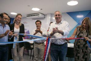 Passalacqua y Rovira inauguraron el ciclo lectivo de la Escuela de Robótica en Posadas