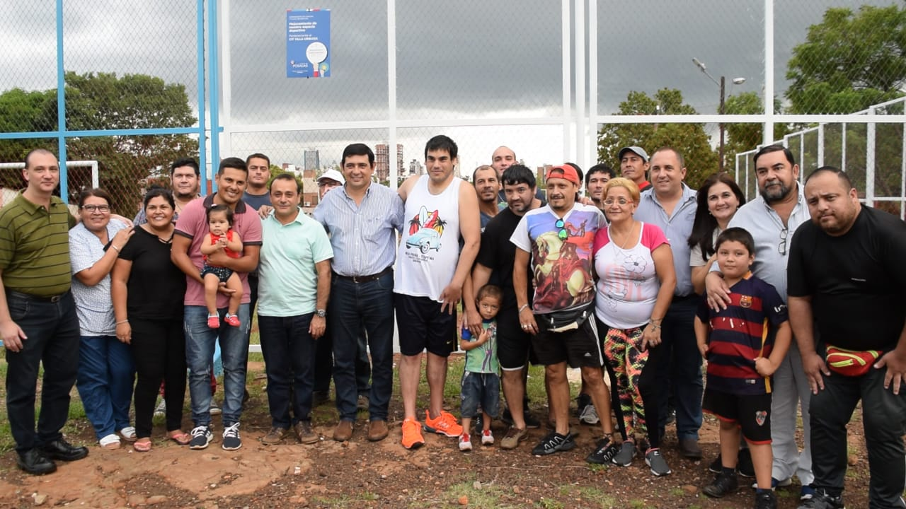 Presupuesto Participativo: Losada y Herrera inauguraron las obras de la Chacra 160