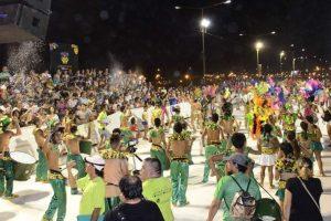 Carnavales Posadeños: Más de 40 mil personas disfrutaron en el cuarto tramo de la Costanera