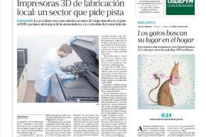 Informe de Economis para La Nación sobre la industria argentina de impresoras 3D