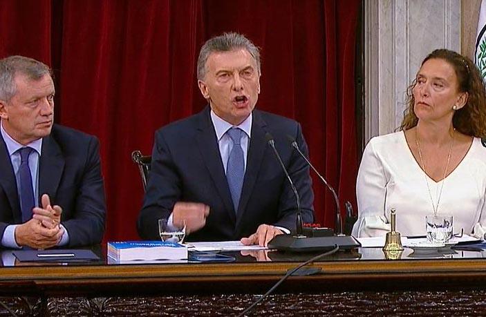 Macri abrió la campaña en el Congreso: «Hoy podemos decir que Argentina está mejor parada que en el 2015»