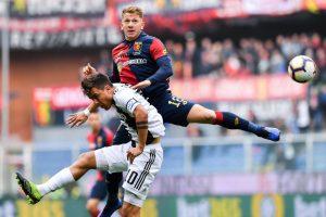 El misionero Esteban Rolón, titular en el Genoa que le sacó el invicto a la Juventus de Ronaldo y Dybala