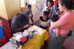 Salud Pública realiza operativos sanitarios en las escuelas