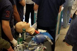 Hospital Escuela: con éxito se realizó el Taller de Entrenamiento en Manejo de Eventos Críticos, con simuladores