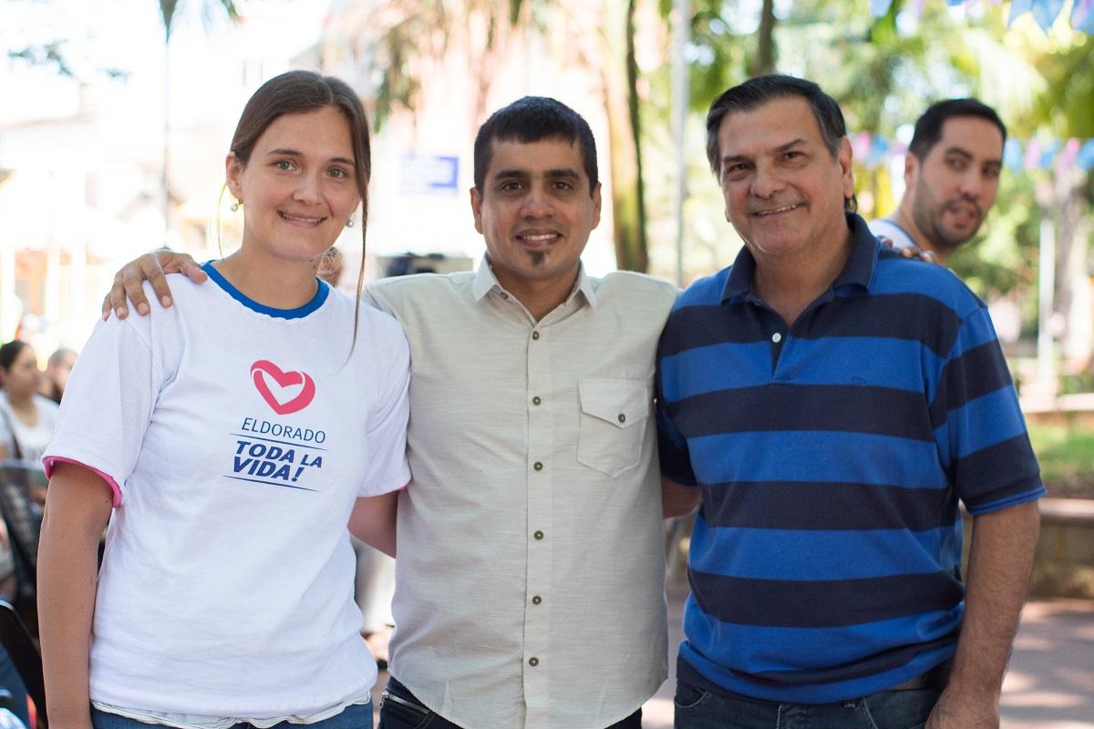Sebastián Tiozzo lanzó su candidatura a intendente en Eldorado, llamando a la unidad, con el acompañamiento de Isaac Lenguaza