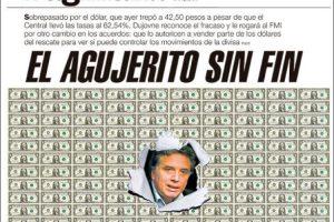 Las tapas del miércoles 13: La super tasa no frenó el dólar, la industria en crisis y las elecciones