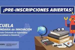 Secundaria de Innovación: Bachillerato orientado en informatica