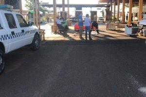 Incautaron 30 kilos de cocaína en en el puente San Roque González y detuvieron al conductor