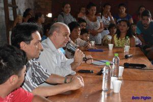 Diputados se reunieron con el MPL
