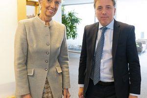 Lagarde se reunió con Dujovne y renovó respaldo al programa argentino