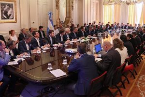 Macri prometió este año ponerse al día con la deuda forestal