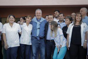 Passalacqua inauguró el hospital de nivel I de Itaembé Guazú